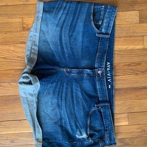 Ava and Viv jean shorts